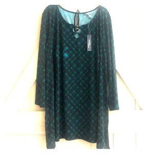 🆕 Market & Spruce stitch fix green holiday dress